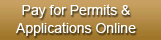Pay for permits and applications online